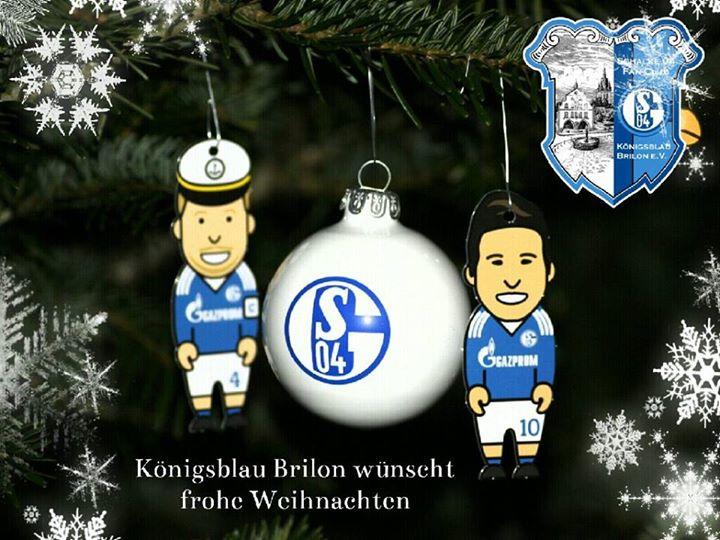 Schalke Bilder Weihnachten.Frohe Weihnachten Königsblau Brilon E V Weltgösster Schalke 04